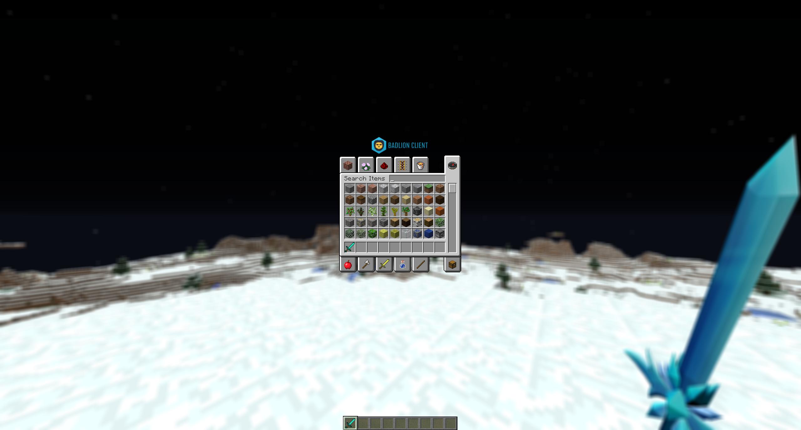 Inventory Blur
